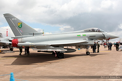 Eurofighter EF-2000 Typhoon FGR4 Royal Air Force ZK319