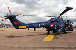 Westland WG-13 Lynx Mk80 Denmark Navy S-175