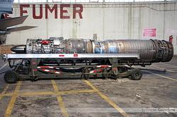 Réacteur du Dassault Mirage F1B SNECMA Atar 9K50