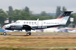 Beech 200 Super King Air Semler Gruppen OY-BVW