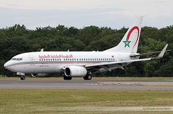 Boeing 737-7B6 Royal Air Maroc (RAM) CN-RNL