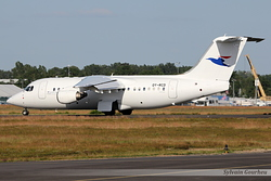 British Aerospace Avro RJ85 Atlantic Airways OY-RCD