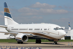 Boeing 737-7AW BBJ Jet Aviation Business Jets VP-CPA