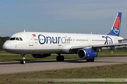 Airbus A321-231 Onur Air TC-OBF