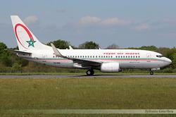 Boeing 737-7B6(WL) Royal Air Maroc CN-RNR