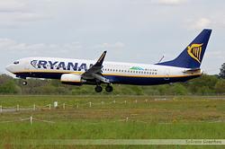 Boeing 737-8AS(WL) Ryanair EI-EMO