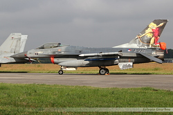 General Dynamics F-16AM Fighting Falcon Netherlands Air Force J-002 / 6D-158
