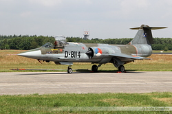 Lockheed F-104G Starfighter Netherlands Air Force D-8114
