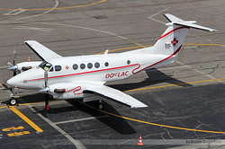 Beech 200C Super King Air Skylifeguard OO-LAC
