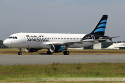 Airbus A320-214 Afriqiyah Airways 5A-ONJ