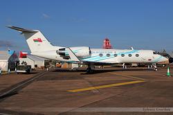 Gulfstream Aerospace G-IV Gulfstream IV Royal Air Force of Oman 557