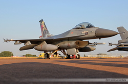 General Dynamics F-16AM Fighting Falcon Netherlands Air Force J-002