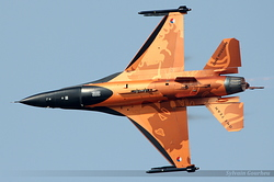 General Dynamics F-16AM Fighting Falcon Netherlands Air Force J-015