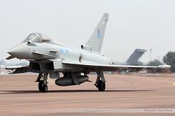 Eurofighter EF-2000 Typhoon FGR4 Royal Air Force ZK343 / EA