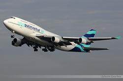 Boeing 747-412 Pullmantur Air EC-KQC