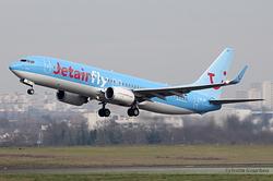 Boeing 737-8K5/WL Jetairfly OO-JBV