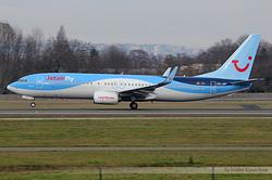 Boeing 737-8K5/WL Jetairfly OO-JAY