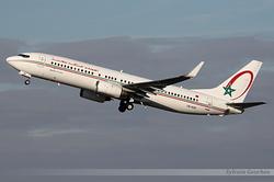 Boeing 737-8B6 Royal Air Maroc CN-ROR