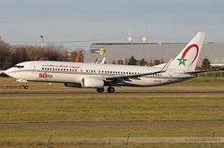 Boeing 737-8B6 Royal Air Maroc CN-RGN