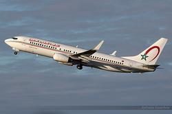 Boeing 737-8B6 Royal Air Maroc CN-ROY