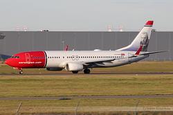 Boeing 737-8JP Norwegian Air Shuttle LN-DYF