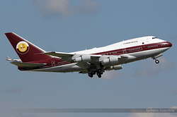 Boeing 747SP-21 Qatar Amiri Flight VP-BAT