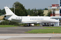 Dassault Falcon 2000 Execujet Europe OY-TJF