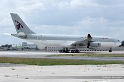 Airbus A340-211 Qatar Amiri Flight A7-HHK
