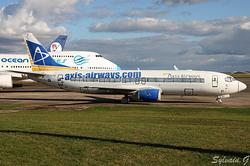 Boeing 737-4YO Axis Airways F-GLXQ