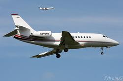 Dassault Falcon 2000 NetJets Europe CS-DNQ