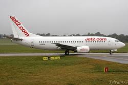 Boeing 737-33A Jet2.com G-GDFB