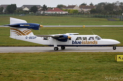 Britten-Norman BN-2A Mk3-2 Trislander Blue Islands G-BEDP