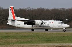 Fokker F50 Cityjet OO-VLN