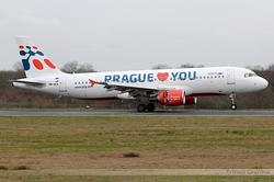 Airbus A320-214 Travel Service Slovakia OM-HCA