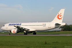 Airbus A320-214 Iberworld Airlines EC-IMU