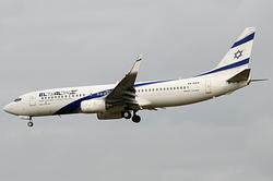 Boeing 737-8Q8 El Al Israel Airlines EX-EKP