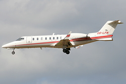 Learjet 45 Abelag Aviation OO-LFN