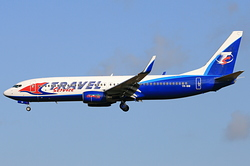 Boeing 737-8AS Travel Service Airline YR-BIB