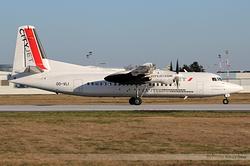 Fokker 50 CityJet OO-VLI