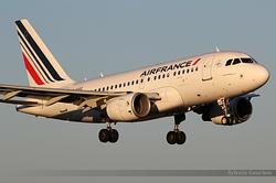 Airbus A318-111 Air France F-GUGC