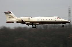 Bombardier Learjet 60 Avies Air Company ES-PVS