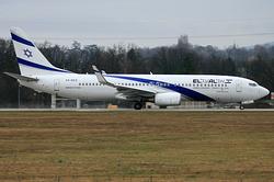 Boeing 737-8HX El Al Israel Airlines 4X-EKS
