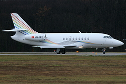 Dassault Falcon 2000 TAG Aviation HB-IAZ