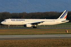 Airbus A321-211 Air France F-GTAS