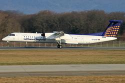 De Havilland Canada DHC-8-402Q Dash 8 Lufthansa Regional (Augsburg Airways) D-ADHP