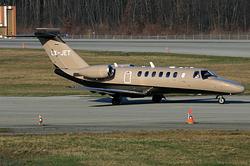 Cessna 525B Citation CJ3 Jet Cruising LX-JET