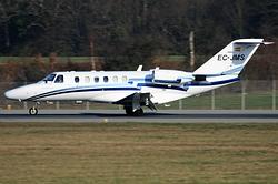 Cessna 525A CitationJet CJ2 Jetnova de Aviación Ejecutiva EC-JMS