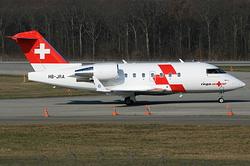 Canadair CL-600-2B16 Challenger 604 REGA Swiss Air Ambulance HB-JRA
