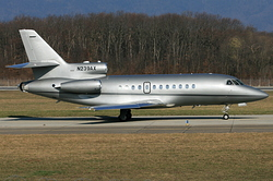 Dassault Falcon 900 Bank of Utah Trustee N239AX