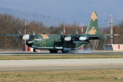 Lockheed C-130H Hercules Algeria Air Force 7T-WHJ